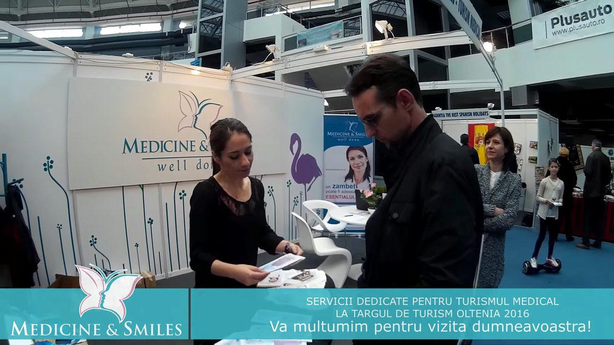 Clinica Medicine & Smiles la Targul de turism al Olteniei 2016